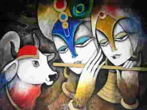 Radha Krishna Bhakti Status